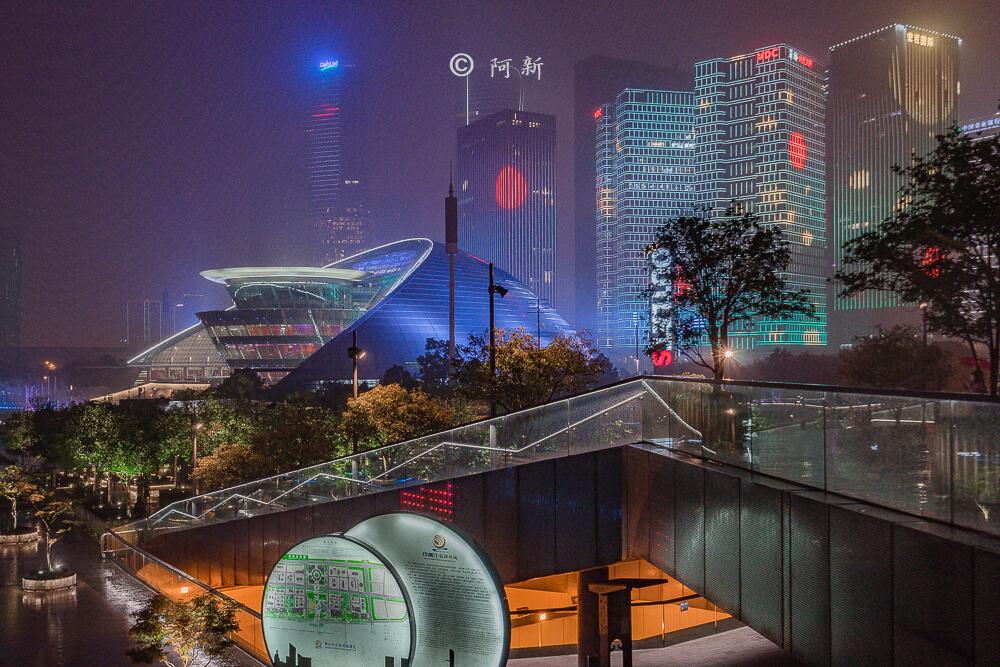杭州錢江新城燈光秀-18