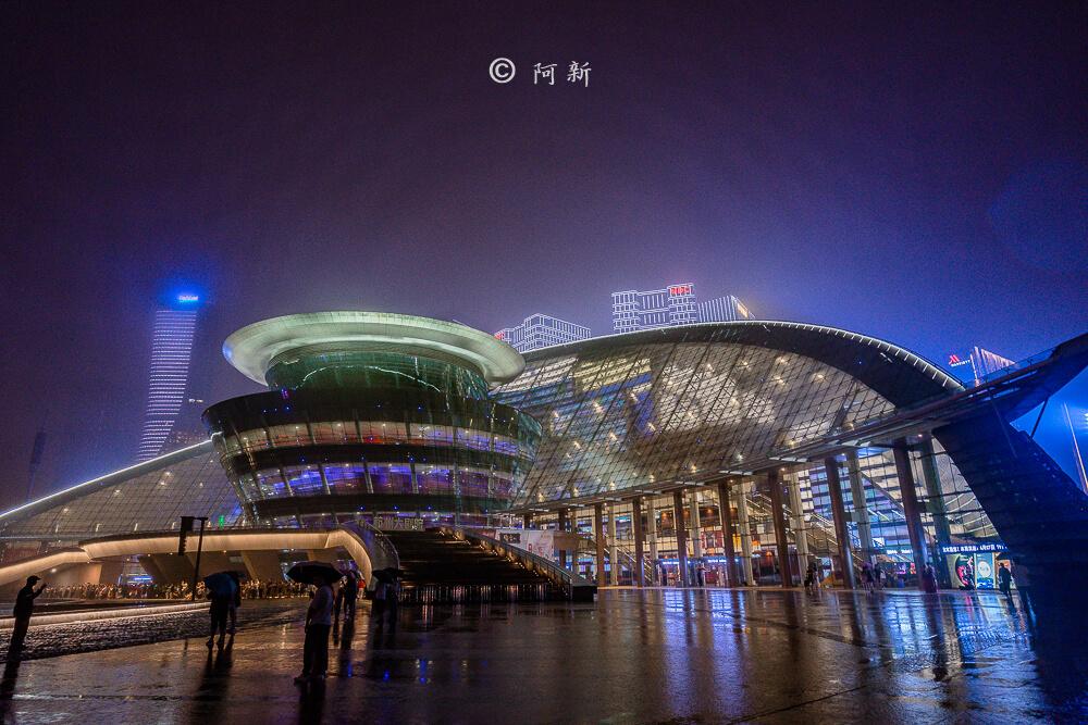 杭州錢江新城燈光秀-23