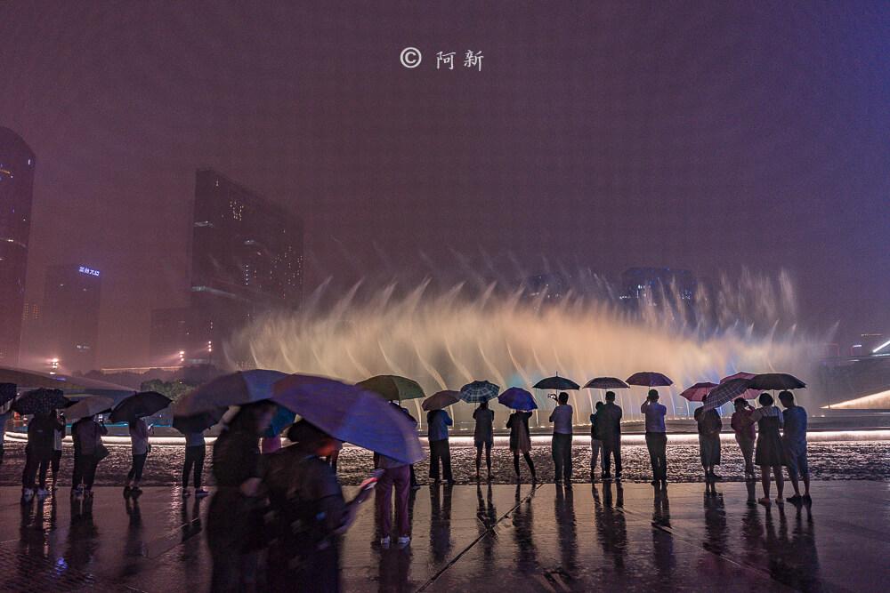 杭州錢江新城燈光秀-24