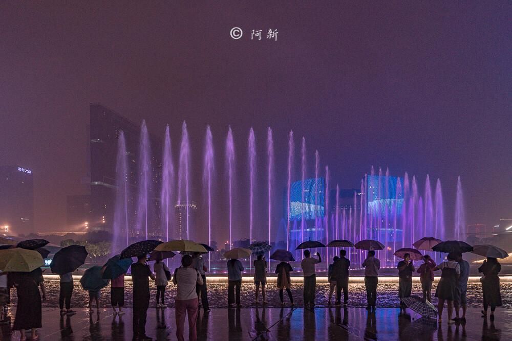杭州錢江新城燈光秀-25