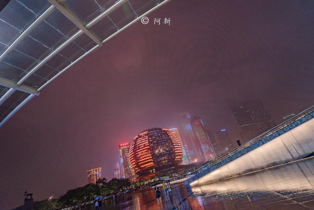 杭州錢江新城燈光秀-27