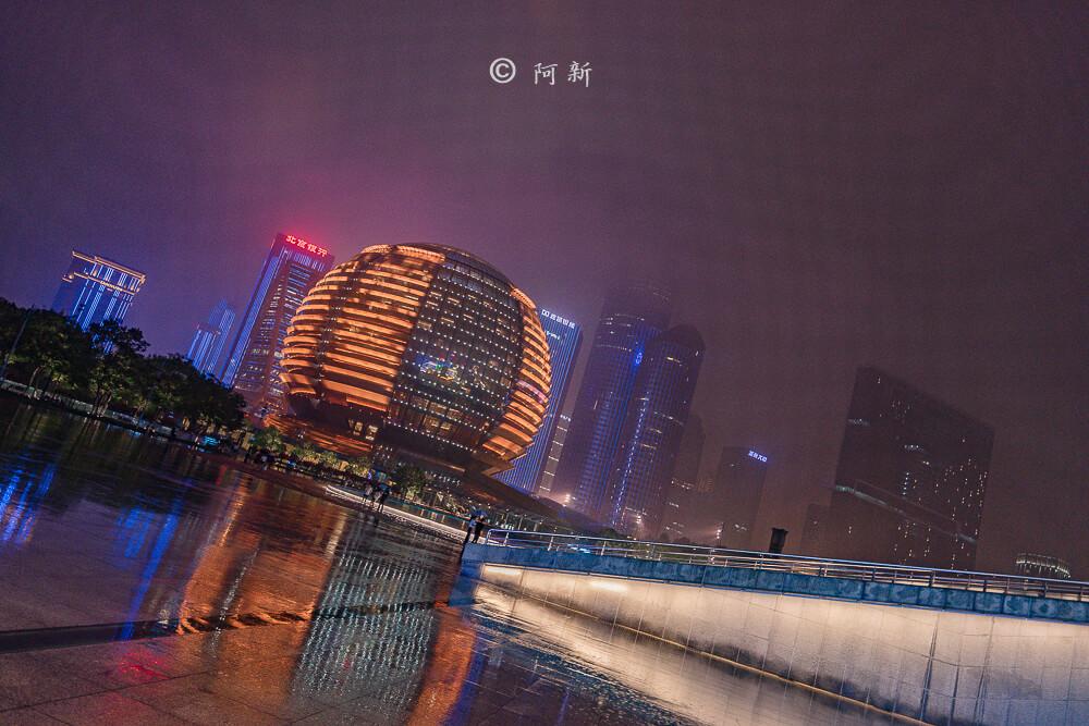杭州錢江新城燈光秀-28