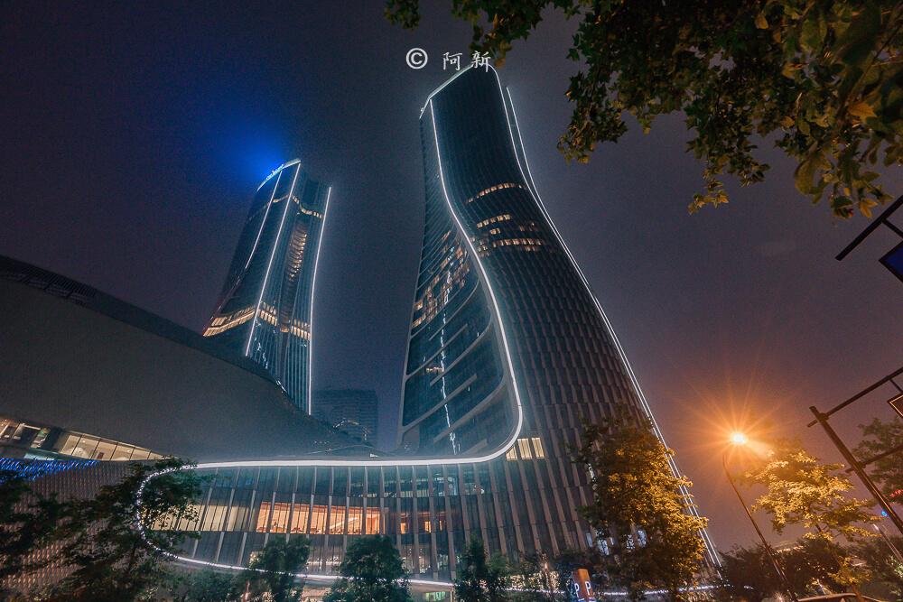 杭州錢江新城燈光秀-30