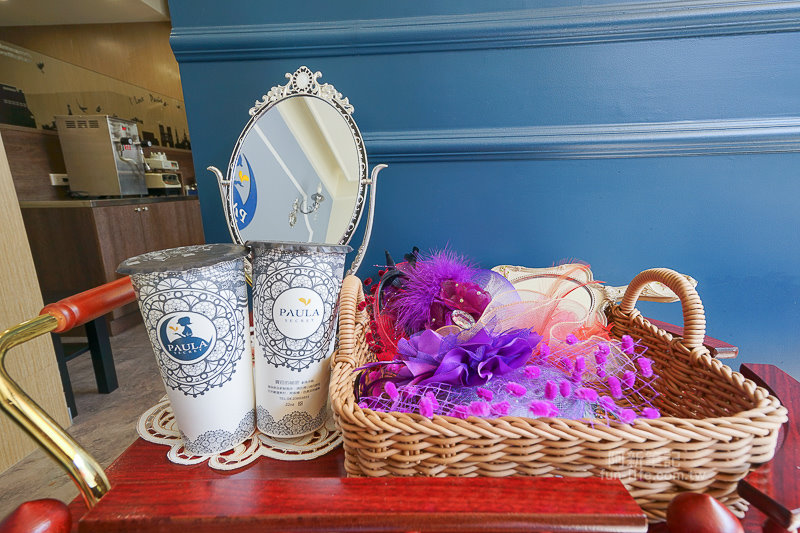 DSC06527 - 熱血採訪|寶菈的秘密歐風茶館Paula Secret|台中新開飲料店來啦!歐風茶館賣著英式花茶,迷人的英式古典,好拍好喝,還有隱藏版祕密花園!