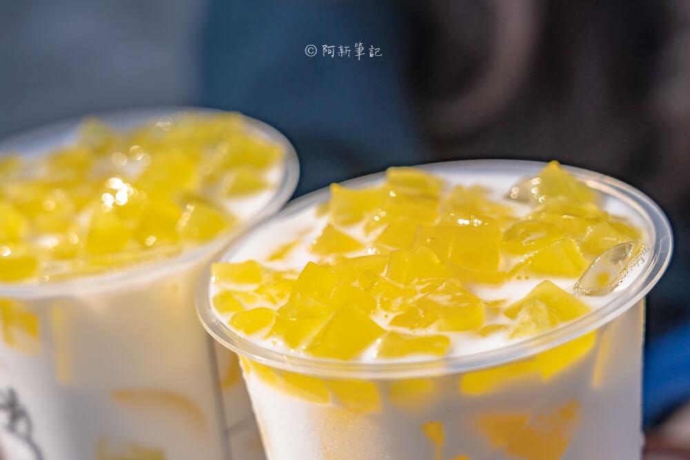 DSC09521 - 熱血採訪│台中隱藏版復刻版紅豆粉粿鮮奶就在這,新品搶先喝少10元