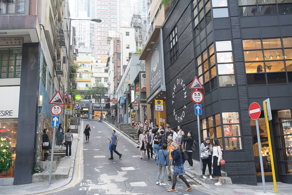 香港中環嘉咸街,中環嘉咸街,中環嘉咸街壁畫,嘉咸街壁畫,中環景點,香港-11