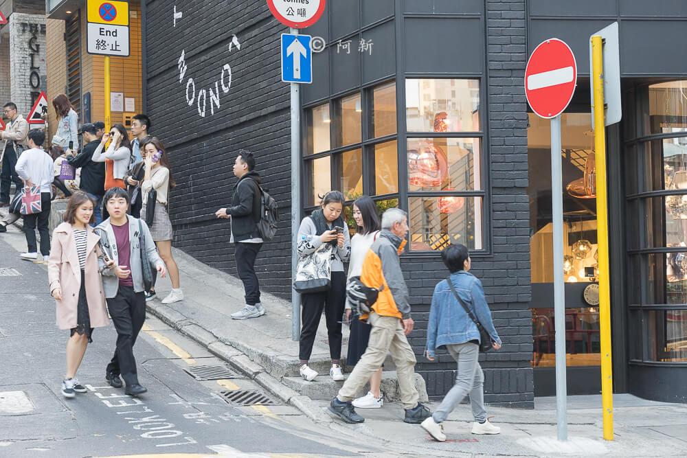 香港中環嘉咸街,中環嘉咸街,中環嘉咸街壁畫,嘉咸街壁畫,中環景點,香港-12