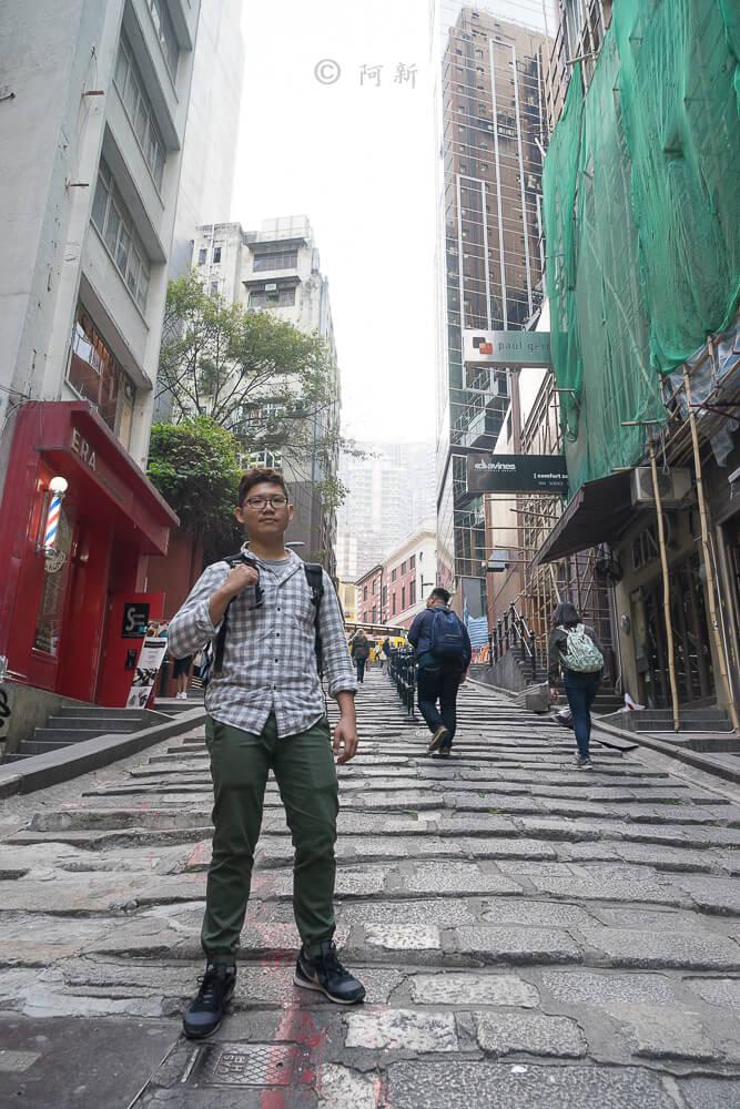 香港中環砵典乍街,中環石板路,石板路,砵典乍街,中環景點,香港-05