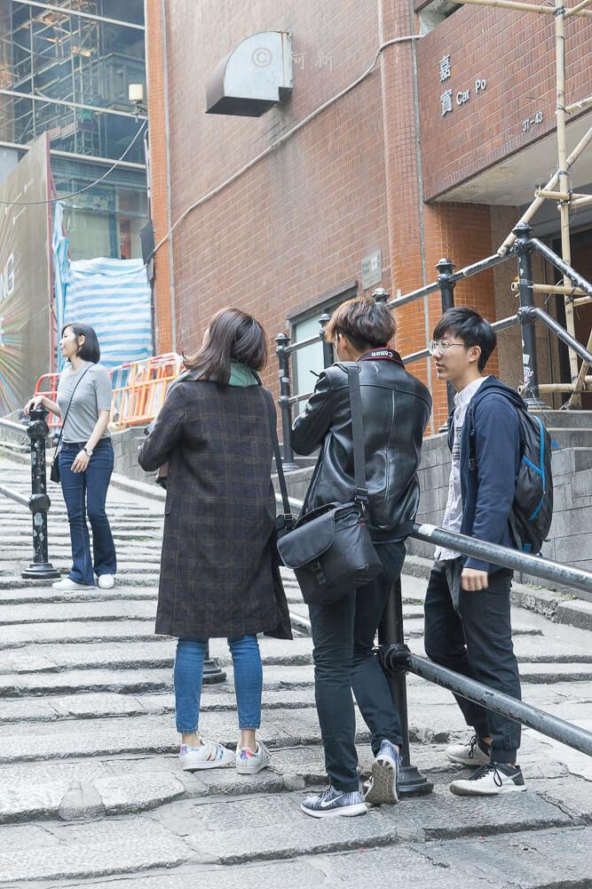 香港中環砵典乍街,中環石板路,石板路,砵典乍街,中環景點,香港-09