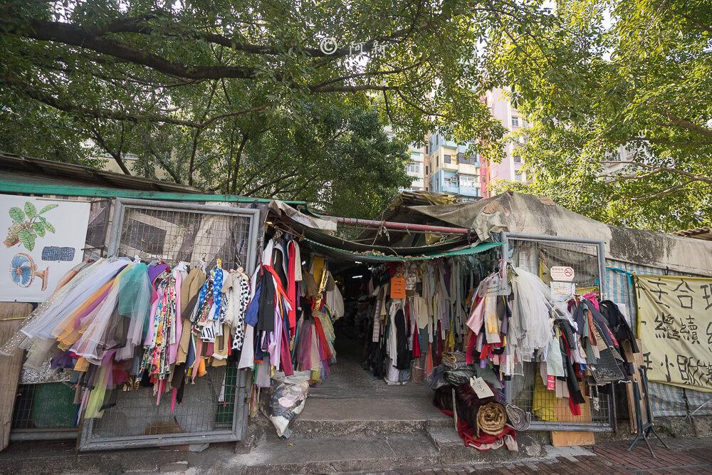 香港布料圖書館/欽州街小販市場-04
