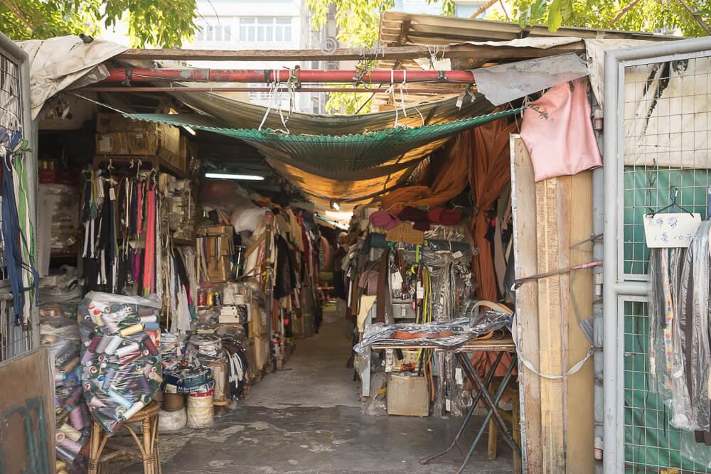 香港布料圖書館/欽州街小販市場-07