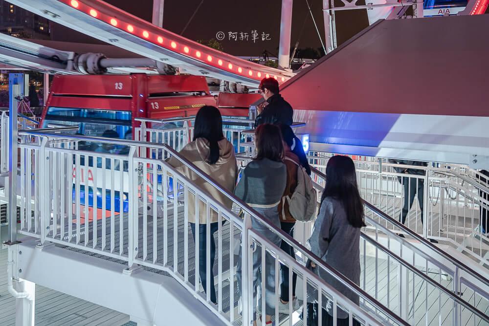 香港中環摩天輪,香港中環景點,中環摩天輪