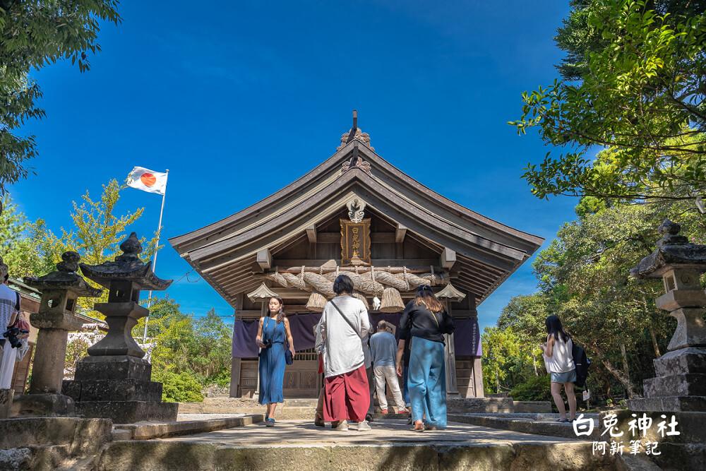 白兔神社 |鳥取必訪!全日本最萌兔子御守就在這,戀愛神社。