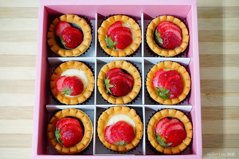 DSC01214 - 熱血採訪│卷卷蛋糕,宅配美食來囉!直擊卷卷蛋糕製作外,更有戚風蛋糕、Kinfolk綜合塔禮盒、艾黛許珍寶禮盒及季節限定:草莓塔~~