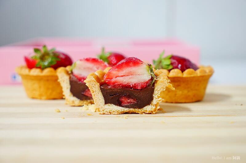 DSC01232 - 熱血採訪│卷卷蛋糕,宅配美食來囉!直擊卷卷蛋糕製作外,更有戚風蛋糕、Kinfolk綜合塔禮盒、艾黛許珍寶禮盒及季節限定:草莓塔~~