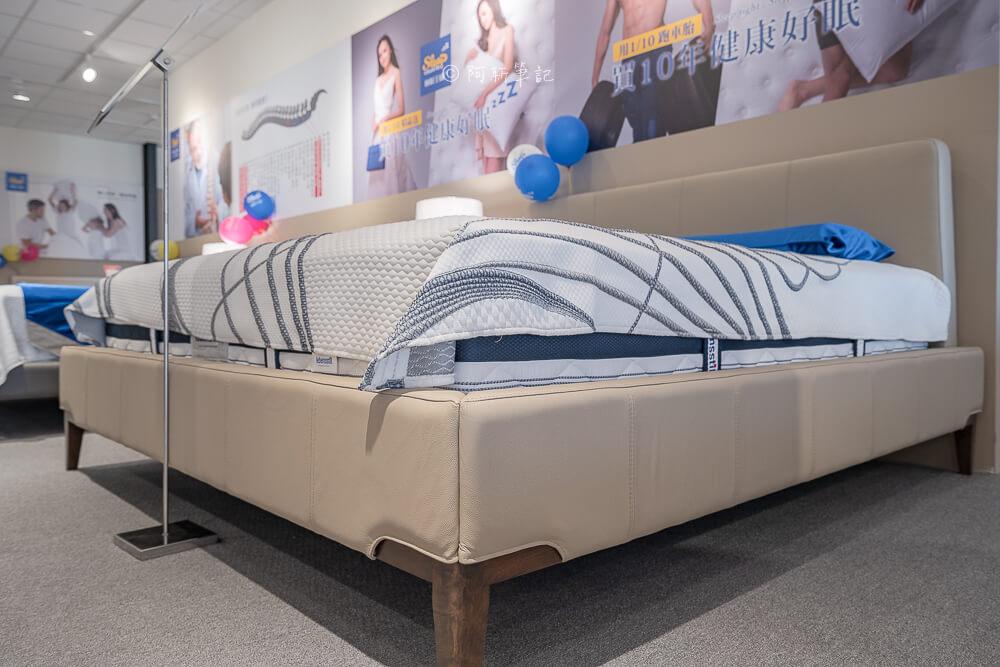 DSC04877 - 熱血採訪 限時11天,睡眠王國台中旗艦店改裝新開幕!二樓還有春天家居
