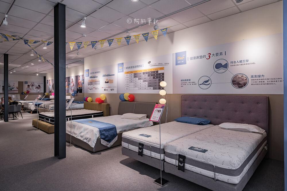 DSC04989 - 熱血採訪 限時11天,睡眠王國台中旗艦店改裝新開幕!二樓還有春天家居