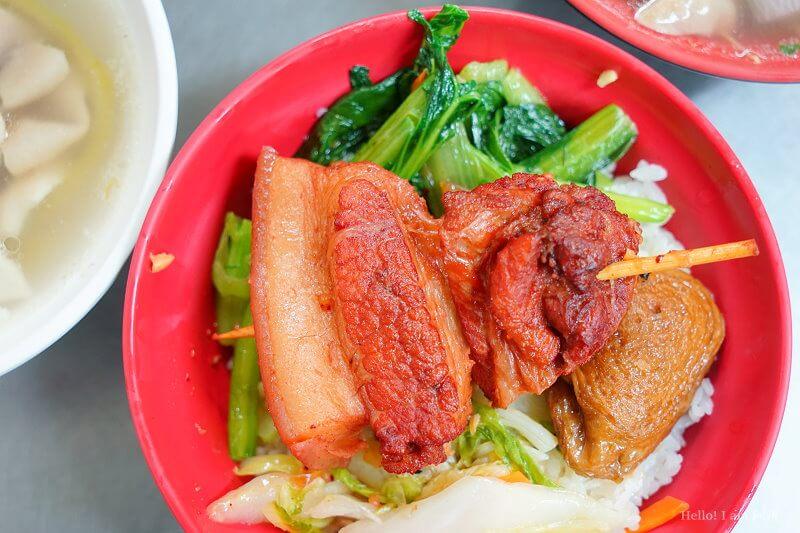 后庄老店爌肉飯排骨飯-12