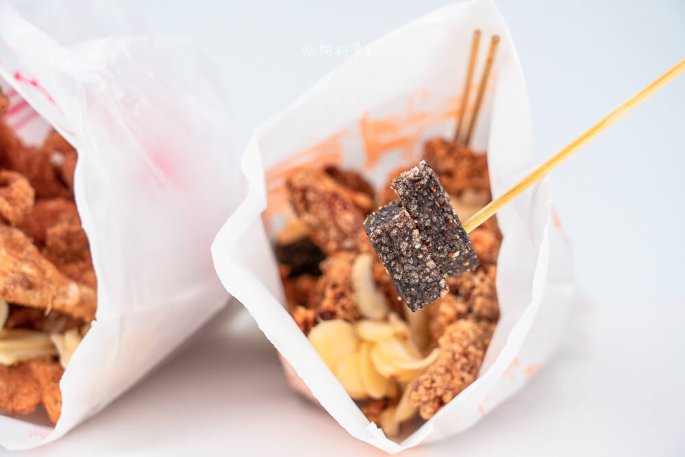 阿財鹽酥雞,太平鹽酥雞推薦,東平路鹹酥雞,太平好吃雞排,太平三角骨