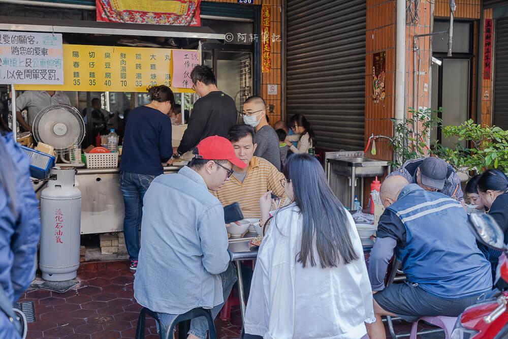 DSC06568 - 阿成炒麵|大里人氣早餐排隊好狂,一開店就一堆人,炒麵很厲害啊~