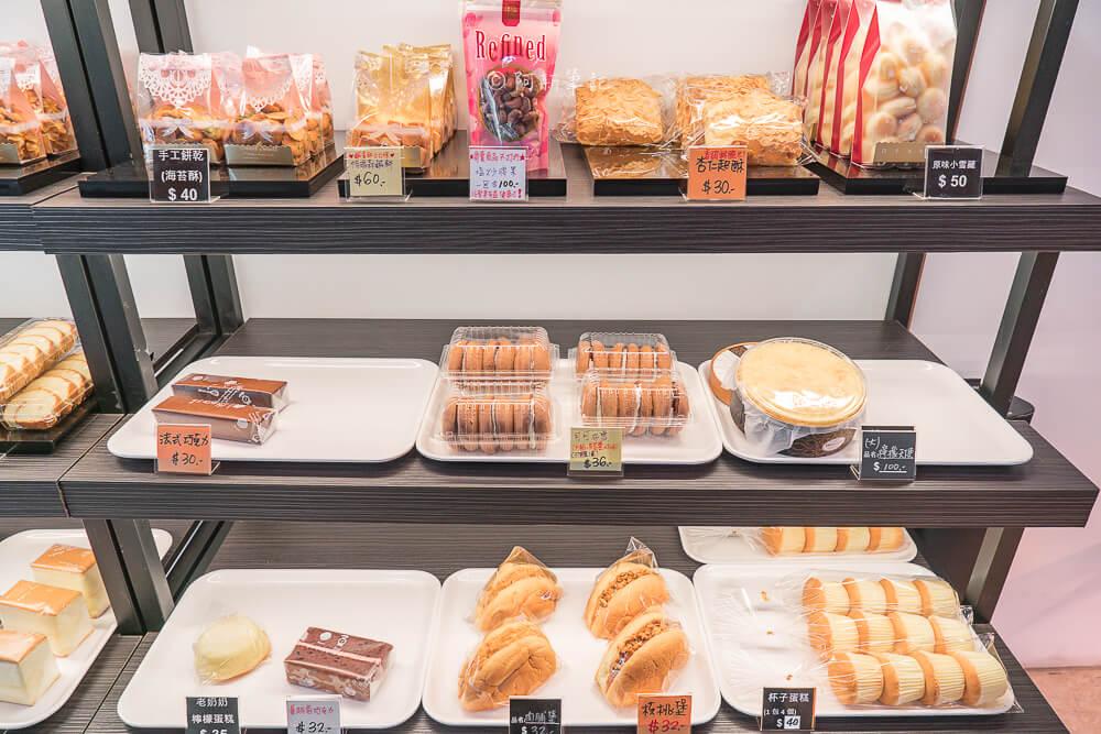DSC07825 - 東格蛋糕製造所│隱藏忠孝路低調蛋糕店,竟然有賣古早味蛋糕!但我更推薦芋頭蛋糕~