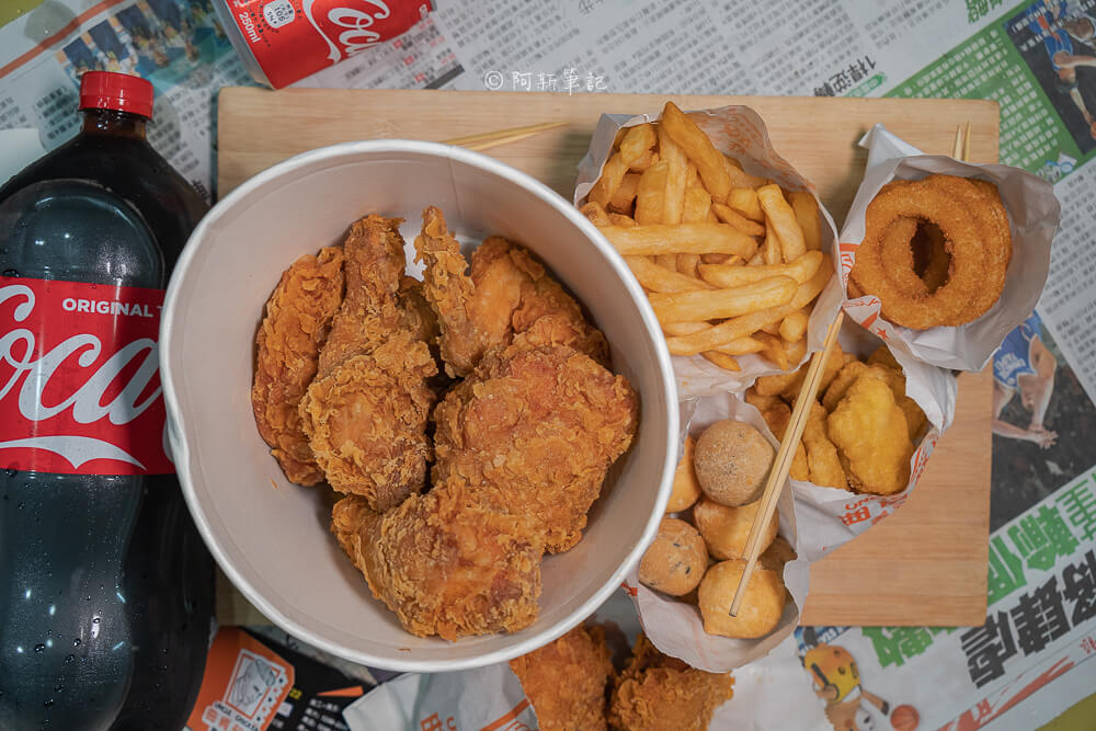 曲肯叔叔美式炸雞,台中曲肯叔叔,曲肯叔叔大里,曲肯叔叔菜單,台中炸雞,大里炸雞