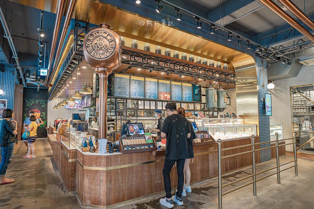 DSC09883 - 卡啡那大墩店|寬敞空間、舒適環境,這間台中咖啡館人潮實在有夠誇張的多,假日一位難求...