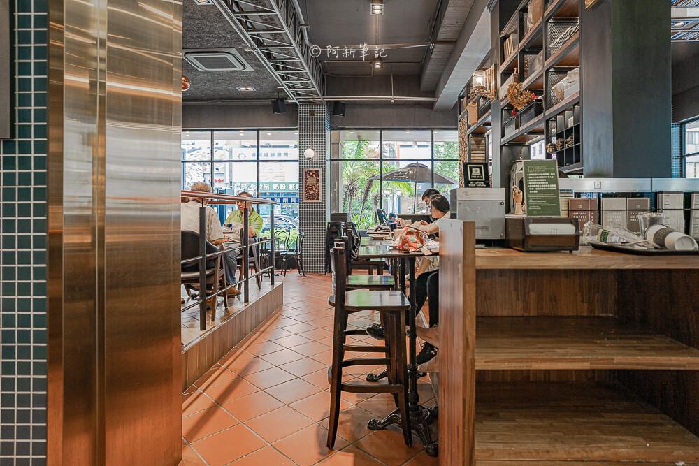 DSC09896 - 卡啡那大墩店|寬敞空間、舒適環境,這間台中咖啡館人潮實在有夠誇張的多,假日一位難求...