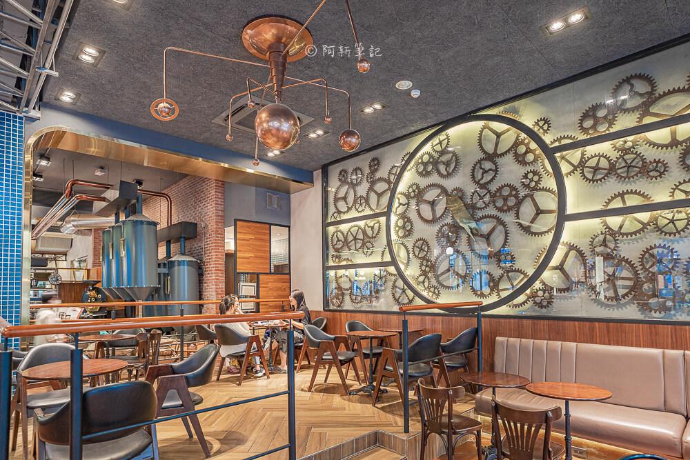 DSC09902 - 卡啡那大墩店|寬敞空間、舒適環境,這間台中咖啡館人潮實在有夠誇張的多,假日一位難求...