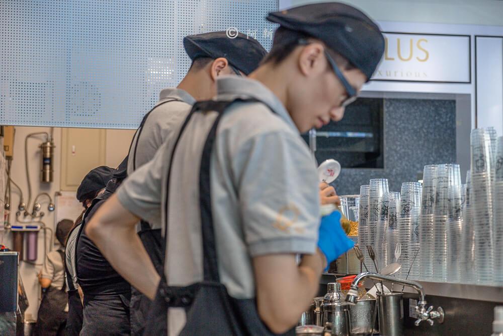 DSC04122 - KOI The七期菁選店|從海外紅回台灣,50嵐體系最新茶飲空間超夯,有座位、有冷氣。