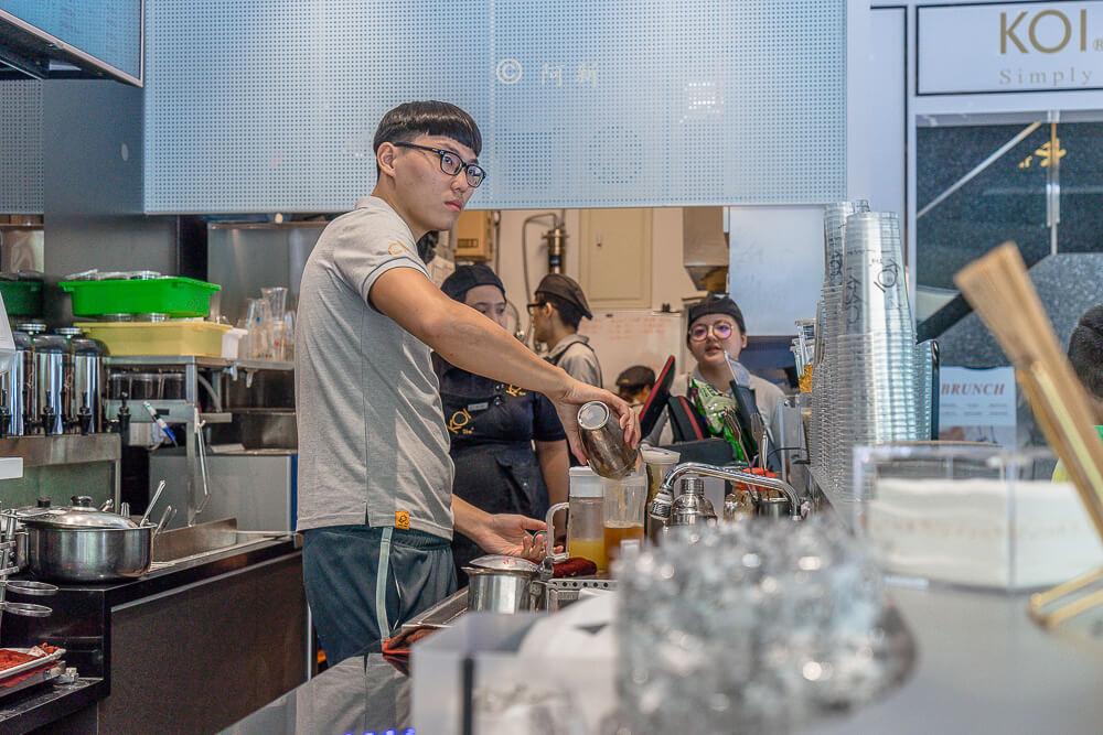 DSC04136 - KOI The七期菁選店|從海外紅回台灣,50嵐體系最新茶飲空間超夯,有座位、有冷氣。