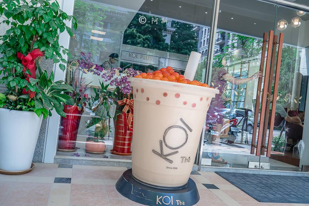 DSC04403 - KOI The七期菁選店|從海外紅回台灣,50嵐體系最新茶飲空間超夯,有座位、有冷氣。
