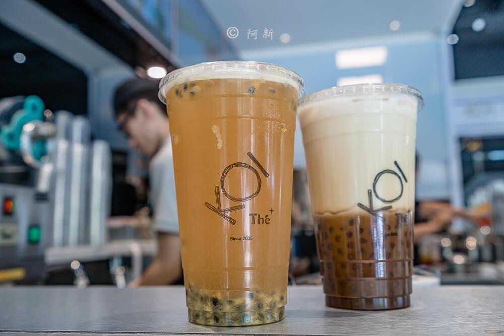 DSC04413 - KOI The七期菁選店|從海外紅回台灣,50嵐體系最新茶飲空間超夯,有座位、有冷氣。
