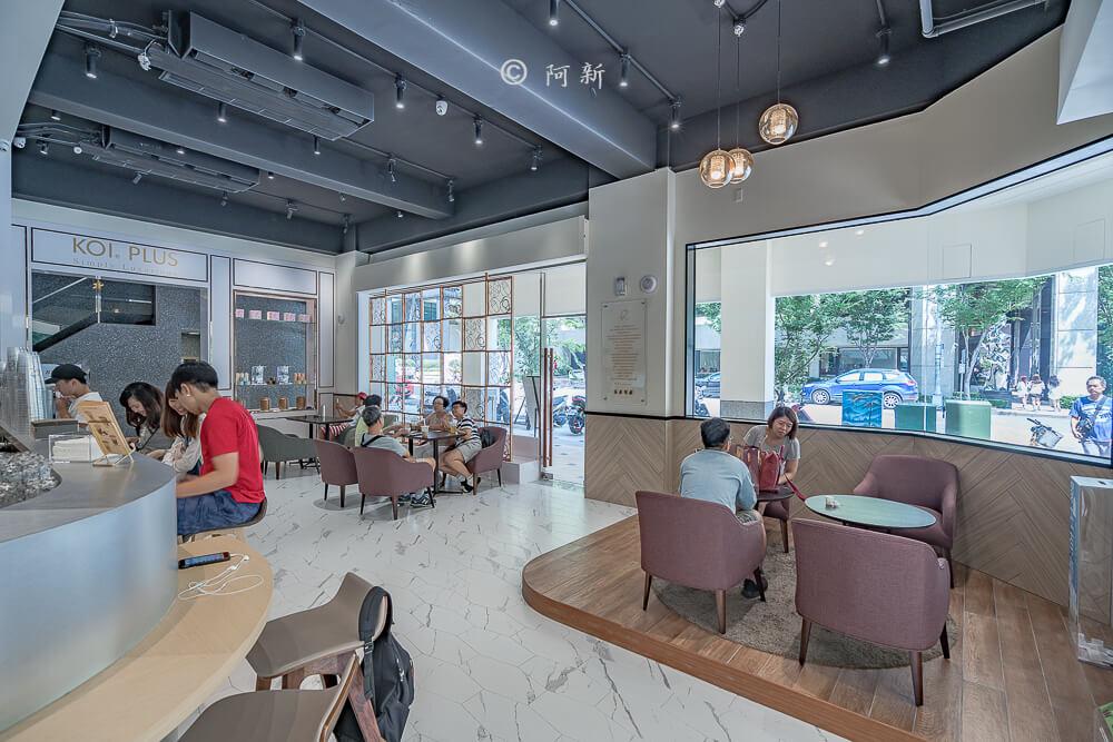 DSC04424 - KOI The七期菁選店|從海外紅回台灣,50嵐體系最新茶飲空間超夯,有座位、有冷氣。