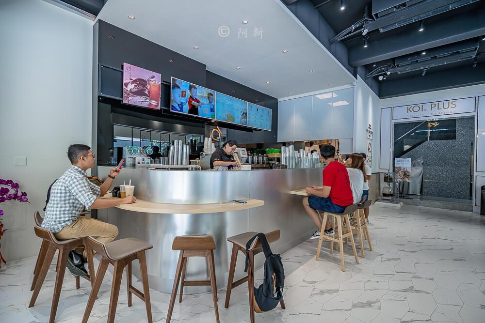 DSC04428 - KOI The七期菁選店|從海外紅回台灣,50嵐體系最新茶飲空間超夯,有座位、有冷氣。