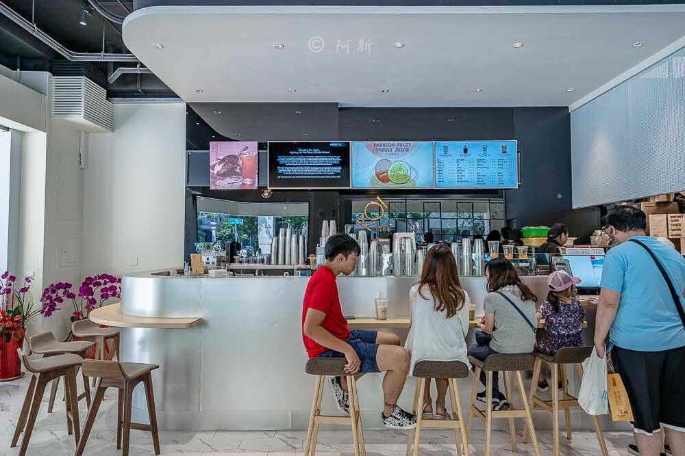 DSC04430 - KOI The七期菁選店|從海外紅回台灣,50嵐體系最新茶飲空間超夯,有座位、有冷氣。