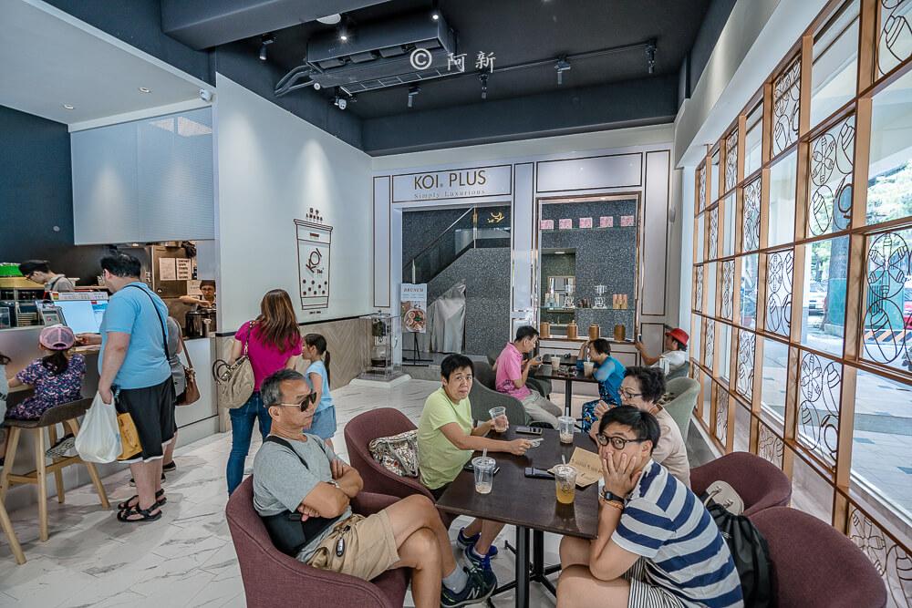 DSC04433 - KOI The七期菁選店|從海外紅回台灣,50嵐體系最新茶飲空間超夯,有座位、有冷氣。