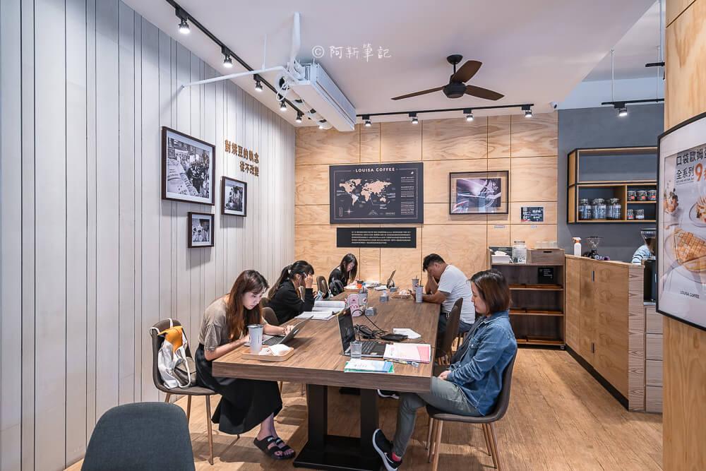 DSC03541 - 熱血採訪│路易莎咖啡西屯文心旗艦店,寬敞空間兼具商務中心!咖啡好喝、餐點也平易近人