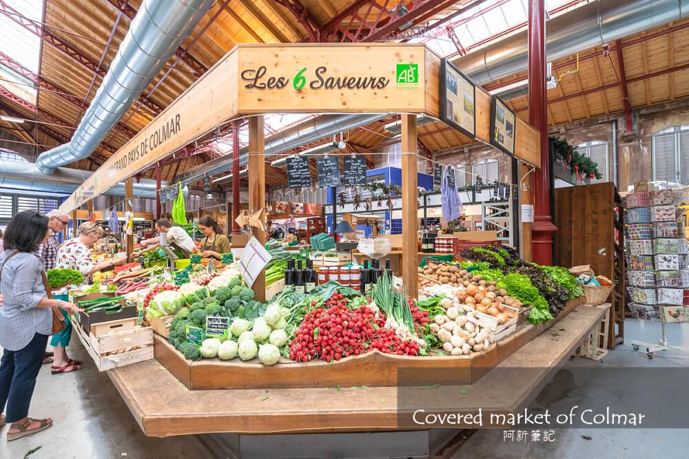 Covered market Colmar,Markthalle Colmar,科爾馬市場,Covered市集,科爾馬市集,Covered市場,科爾馬自由行,科爾馬旅遊,法國景點,法國自由行
