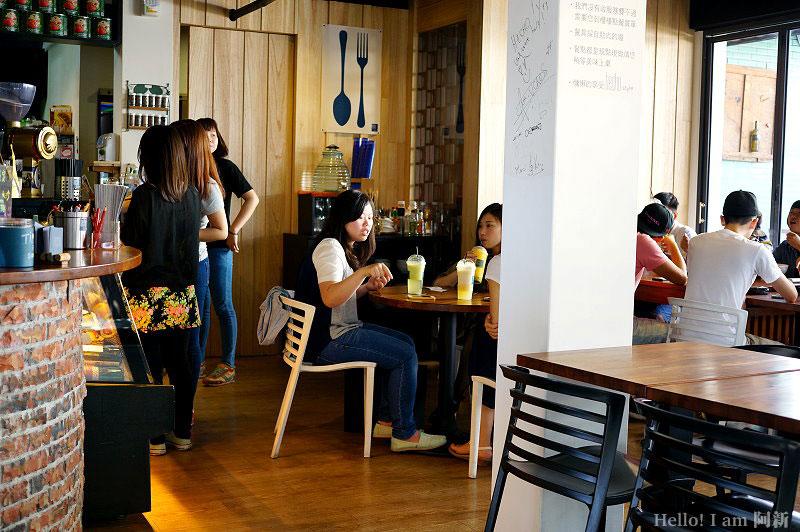 DSC06807 - 做咖啡hecho|勤美綠園道巷弄內,手做餐點,只接受現場等候座位。