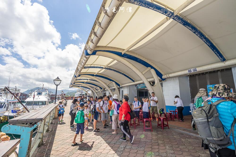 基隆旅遊,基隆嶼,八斗子觀光漁港,東北角景點,碧砂漁港