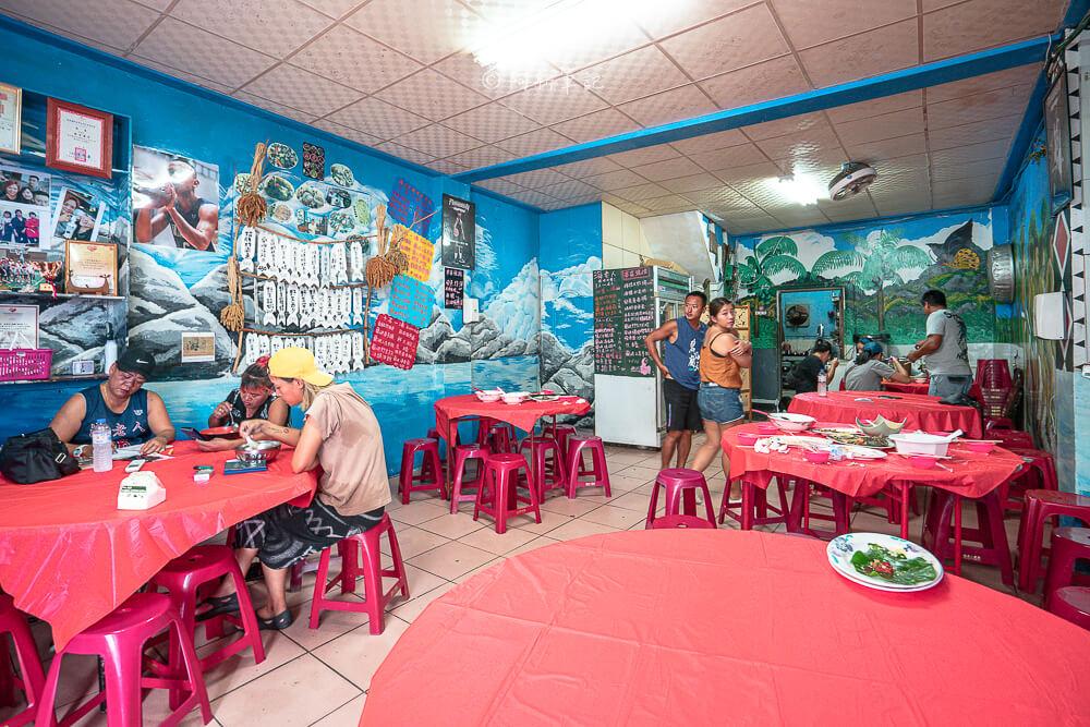 海老人,海老人餐廳,海老人營業時間,紅頭美食,紅頭餐廳,蘭嶼海產店,蘭嶼餐廳,蘭嶼美食