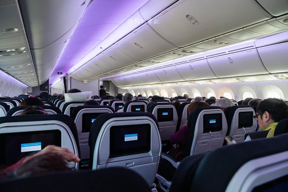 紐西蘭航空 787-9搭乘體驗 |台灣直飛紐西蘭!11小時不停站,舒適又快速~