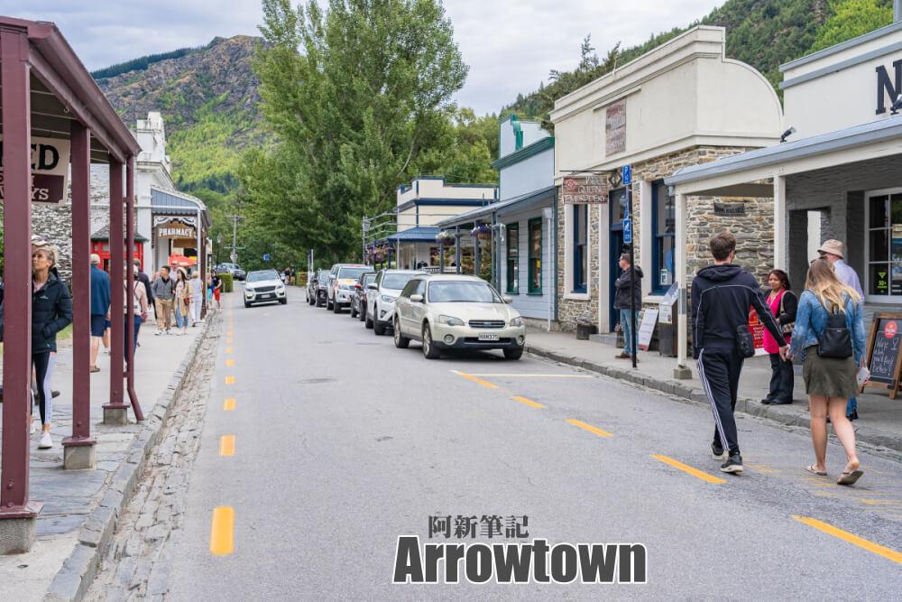 箭鎮 |紐西蘭掏金小鎮「arrowtown 」成了魔戒電影場景。