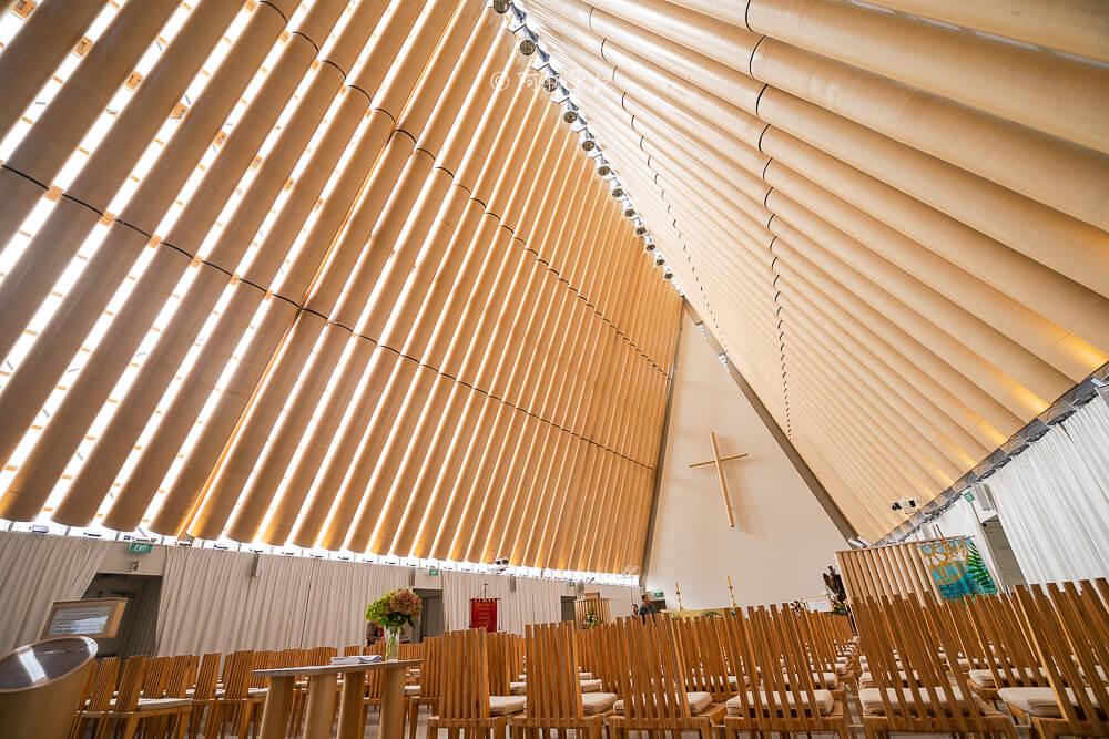 cardboard cathedral,紐西蘭紙教堂,基督城紙教堂,基督城景點,紐西蘭自由行