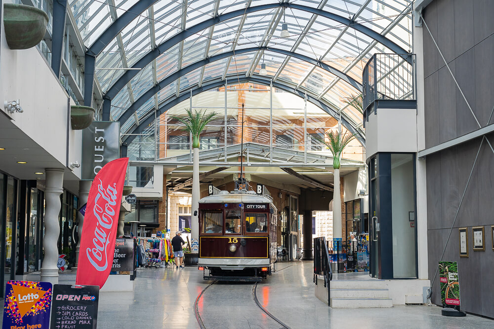 new regent street購物中心,new regent street,基督城景點,紐西蘭自由行