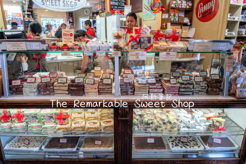 The Remarkable Sweet Shop |紐西蘭箭鎮必訪糖果店。