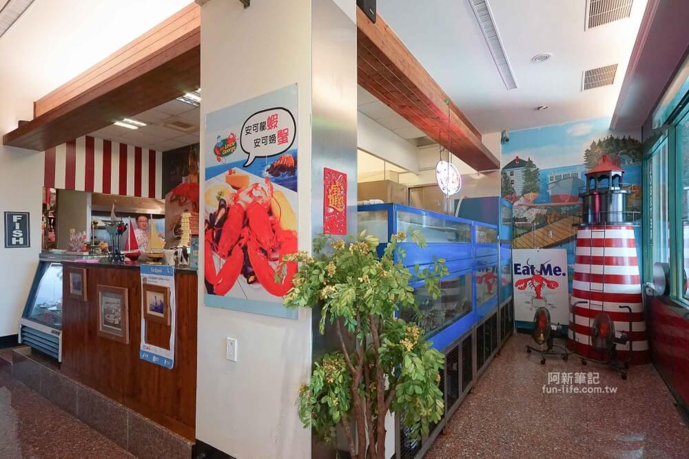 安可喬治龍蝦螃蟹美式海鮮餐廳-04