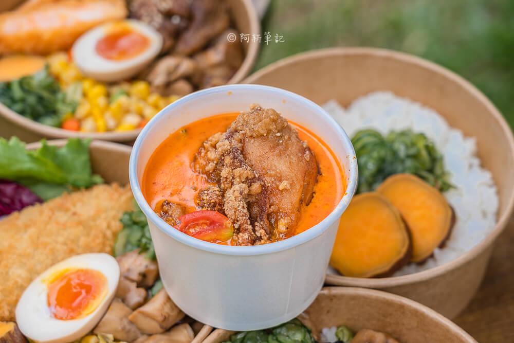 DSC05910 - 熱血採訪|豆子燒肉便當事務所|隱藏東海的貨櫃屋便當店,份料多吃的彭派,但真的不好找。