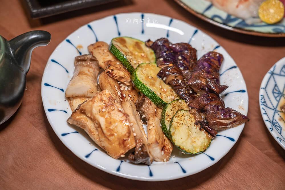 DSC03266 - 熱血採訪│台中少見營業到凌晨3點的日式料理店!不收服務費餐具自取的魚貳拾